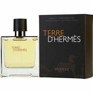 Hermes Terre D'Hermes Eau de Parfum 75ml EDP Spray Damaged Box