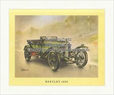 Bentley 1920 Royal London Chassis Green Lights Tyres round Motor Classic Car