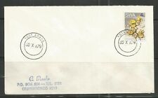 South West Africa Cover Aroab 30.10.1979