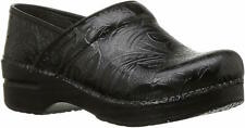 Womens Dansko Professional Clog - Black Tooled, Size EUR 39/US 8.5-9