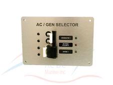 AC Main Generator Source Selection Circuit Breaker Panel