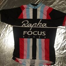 Large Generic Brand Full Zip Multicoloured Vertical Strip Cycling Jersey