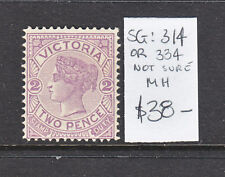 New listing Victoria 2d Violet Qv Sg 314 Or 334 Not Sure Mh