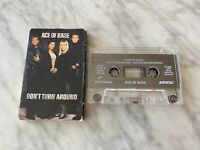Ace Of Base Don't Turn Around CASSETTE Tape Single 1994 Arista The Sign RARE OOP