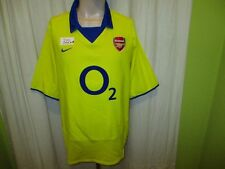 "FC Arsenal London Original Nike Auswärts Trikot 2003/04 ""Q2"" Gr.XL TOP"