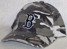 "Boston Red Sox ""FLEX FIT"" CAP ✨HAT ✨MLB PATCH/LOGO ✨2 SIZES / 3 CAMO COLORS ✨NEW"