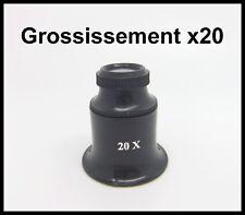 loupe bijoutier grossissement X20 - QUALITE
