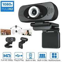 NEW HD 1080P Webcam Built-in Microphone Auto Focus High-end Video Call Computer