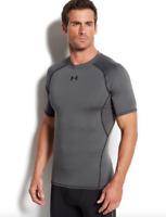 Under Armour Men's HeatGear Armour T-Shirt in Grey 8817 Size M