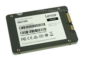 LNS100-256RBNA GENUINE LEXAR SSD DRIVE 256GB NS100 2.5''(CA26)