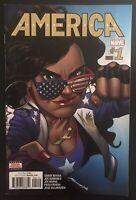 America Chavez #1 2nd Print 2017 Marvel Variant Comic Book Second Printing