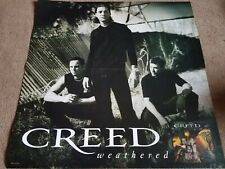 """Creed - Weathered - 4 Double Sided Posters / Flats / 24"""" X 24"""" / Scott Stapp"""