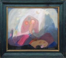 A. Dobrowolska, polnischer Maler: Komposition. Ölgemälde