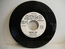 Arthur Conley, People Sure Act Funny / Burning Fire, Atco 45-6588, 1968 WLP Soul