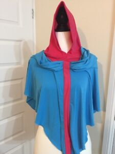 Pink And Blue Hoodie Hijab One Piece Abaya Jilbab Islamic Prayer Cloth