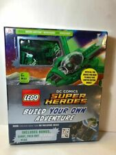 Super Heroes LEGO Build Your Own Adventure Green Lantern Mini Figure Book 84 Pc.