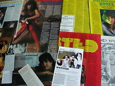 WAYSTED/SOLO - MAGAZINE CUTTINGS COLLECTION (REF X13)