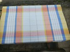 Vintage Colourful Tablecloth