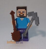 MINECRAFT LEGO Mini figure Steve 21116 21147 21113 21119 21114 21115 21138 21146