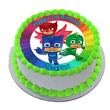 PJ MASKS REAL EDIBLE ICING CAKE TOPPER PARTY IMAGE FROSTING SHEET