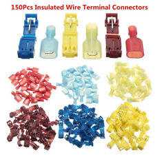 150x T-Taps/Male Insulated Wire Terminal Connector Combo 14-16, 10-12, 18-22 AWG