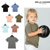Bella + Canvas Toddler Triblend T-shirt 3413T - Kids Polycotton Short Sleeve Tee