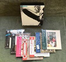 LED ZEPPELIN JAPAN OBI MINI LP 8 DISC SHM CD BOX SET PAGE PLANT BONHAM 1969-1976
