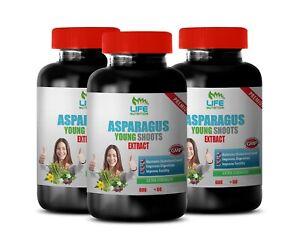 asparagus extract - Asparagus Extract 600mg - digestive health 3 Bottles