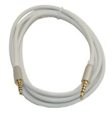 """6 Ft DC Pro Premium 3.5mm (1/8"""") Stereo 4-Pole TRRS Male to Male Cord Cable."""
