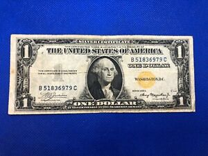 SERIES 1935 A $1 NORTH AFRICA SILVER CERTIFICATE YELLOW SEAL