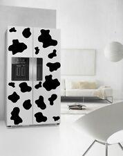 Vaca Parches Nevera Cocina pegatinas de impresión a prueba de agua refrigerador Wall Decals Reino Unido
