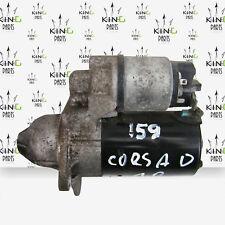 VAUXHALL CORSA D 2010-14 BOSCH ENGINE STARTER MOTOR PETROL 1.0 A10XEP 0001107495