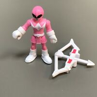 Fisher Price Imaginext Power Rangers Pink RANGER figure Super Friends Toys #4