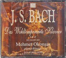 J.S. Bach Das Wohltemperierte Klavier M Okonsar 1 & 2 Piano(3 CD Mixed Mode Set)