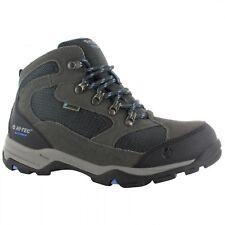 HI-TEC Storm WP Ladies Waterproof Leather Walking Hiking BOOTS Charcoal/graphite UK 8