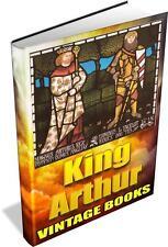 Vintage King Arthur BOOKS - 86 Antique Arthurian eBooks on DVD