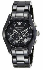 NWT Emporio Armani Men's AR1400 Ceramica Chronograph Watch