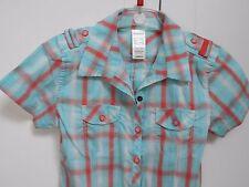 QUECHUA chemise manches courtes T 8/10 ans