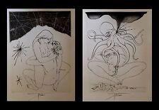 [CURIOSA - EROTISME] TREMOIS - Mythologies [ou Mythologie] - 22 gravures. 1/115.