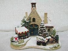 Lilliput Lane Christmas Time Illuminated Cottages 2004 Enesco Nib L2792
