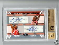 07-08 Topps Co-Signers Aaron Brooks/Carl landry 9.5 Gem