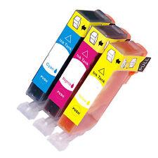3 pack CLI226 CMY Ink - Canon PIXMA MX882 iP4820  MG5120 MG5220 iX6520 w/Chip