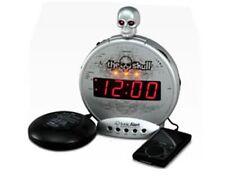 Sonic Alert Skull Extra Loud Alarm Clock Play iPod MP3