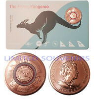 2020 $1 COPPER Coin Qantas Colored Flying Kangaroo RAM Limited Edition Large UNC