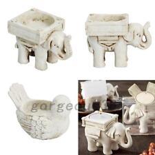 1PCS Retro Elephant Tea Light Candle Holder Candlestick Wedding Home Decor