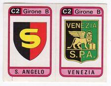 figurina CALCIATORI PANINI 1983/84 NEW numero 568 SCUDETTI S. ANGELO VENEZIA