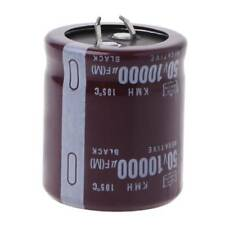 50V 10000uF 105°C Electrolytic Power Capacitor Snap Fit Snap In