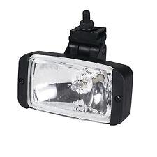 "Pilot Navigator Universal 3"" x 5"" Clear Lens Black Housing Fog Lights Lamps Kit"