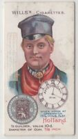Dutch Holland Man 1900 Clothing  Fashions Coin Amsterdam 100+ Y/O Trade Ad Card