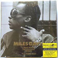 """Miles Davis Limited Edition 7"""" Runs The VooDoo Down/In A Silent Way & XL T-shirt"""